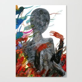 with my voice i'm calling you Canvas Print