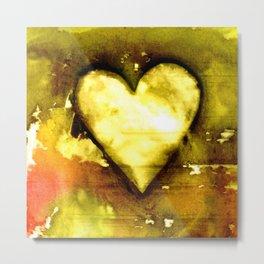 Heart Dreams 3C by Kathy Morton Stanion Metal Print