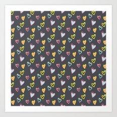 Rosewall love Art Print