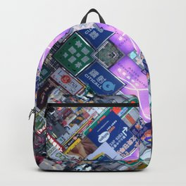 Hong Kong Kaleidoscope 03 Backpack
