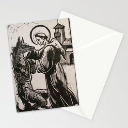 Compassion for a werewolf Stationery Cards