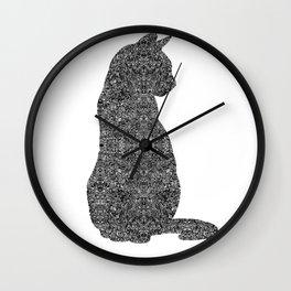 urban cat Wall Clock