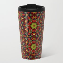 Green and dark blue gummy bears 5197 Travel Mug