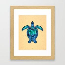 ocean omega Framed Art Print