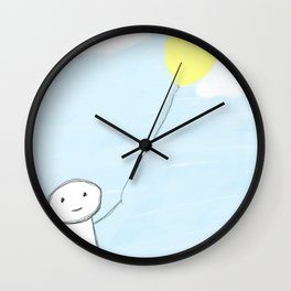 Simple Day  Wall Clock