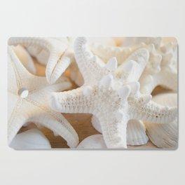 White Starfish Cutting Board
