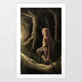 Little Red Ridinghood Art Print