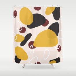 Abstract Fall I #society6 #abstractart Shower Curtain