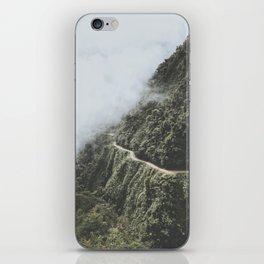 Death Road, Bolivia I iPhone Skin