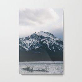 Barrier Lake, Alberta Metal Print