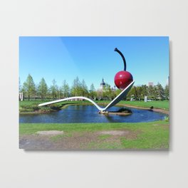 Spoonbridge and Cherry Metal Print