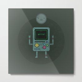 Bmo X Bubble Metal Print