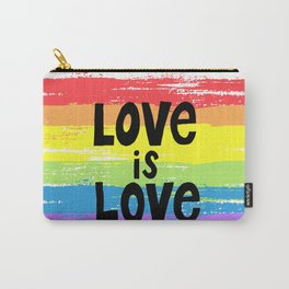 Love is love over the rainbow Carry-All Pouch