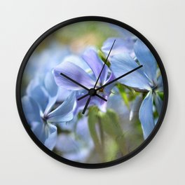 Phlox Wall Clock