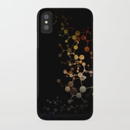 Metallic Molecule iPhone Case