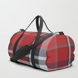 Colors Of Christmas (Plaid 4) Duffle Bag