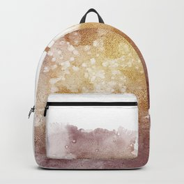 Gold Evening Cloud Backpack