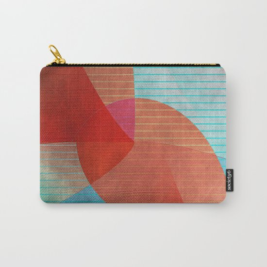 Multicolored abstract 2016 / 015 Carry-All Pouch