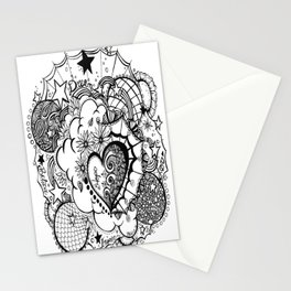 Affirmation Doodle  Stationery Cards
