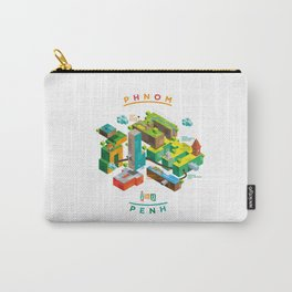 Phnom  Penh Carry-All Pouch