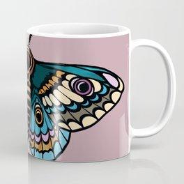 Moth Illustration Coffee Mug