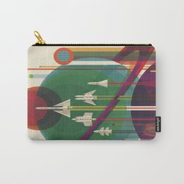 Cosmos vintage poster Carry-All Pouch