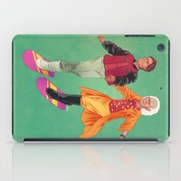 back to the future iPad Cases featuring Back to the Future by Dave Collinson