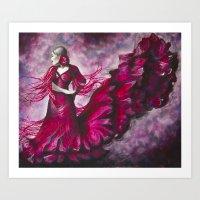Flamenco V Art Print