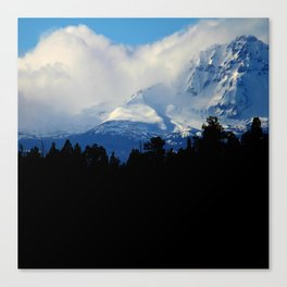 Rolling Over the Peak Canvas Print
