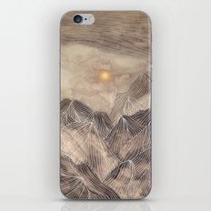 Lines in the mountains XII iPhone & iPod Skin