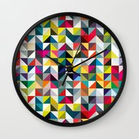 book cover Wall Clocks featuring 100 book cover colours by Coralie Bickford-Smith
