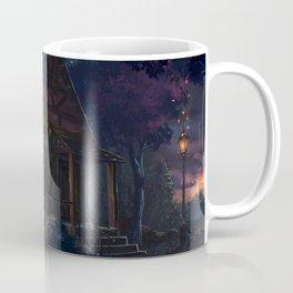House fairy tale art light night Coffee Mug
