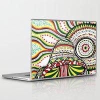 rasta Laptop & iPad Skins featuring Rasta by Marcela Caraballo