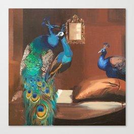 Peacock Suites  Canvas Print