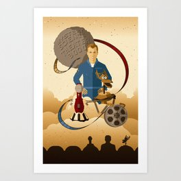 Mystery Science Theater 3000 Art Print