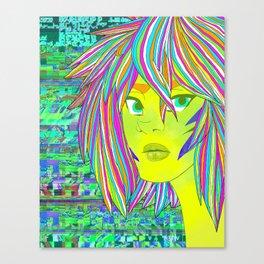 Bleach print 1 Canvas Print