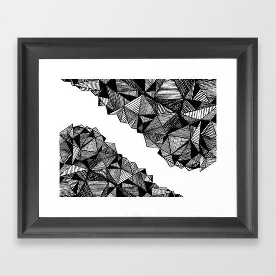 Landslide Framed Art Print