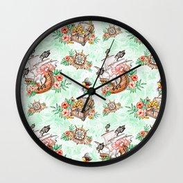 Pirate #1 Wall Clock