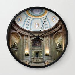 Manitoba Legislative Building - Rotunda Wall Clock