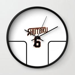 Midorima's Jersey Alt Wall Clock