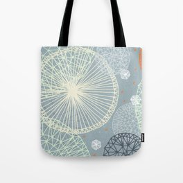 Geodesic by Friztin Tote Bag