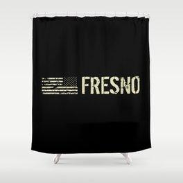 Black Flag: Fresno Shower Curtain