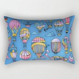 Baby Decoration Air Balloon Rectangular Pillow