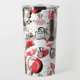 Fashionista Girl Travel Mug