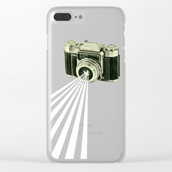 Depth of Field Clear iPhone Case