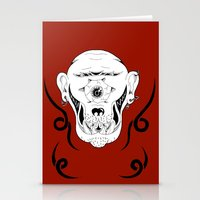 cyclops Stationery Cards featuring Cyclops by Jorge Daszkal