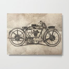 Norton Motorcycles Metal Print