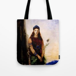 "Gustave Moreau ""Helen on the Walls of Troy"" Tote Bag"
