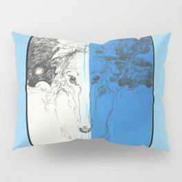 Tosca (Borzoi) Portrait # 11 Pillow Sham