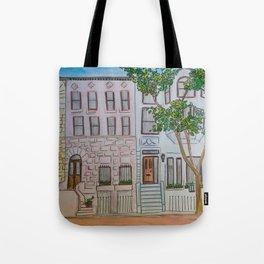 Brownstones Tote Bag